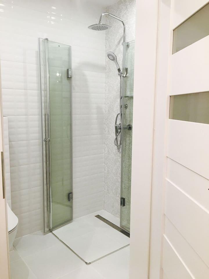 prysznic kabina składana