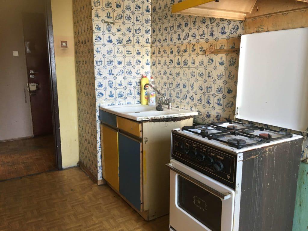 Wrocław - remont kuchni PRZED