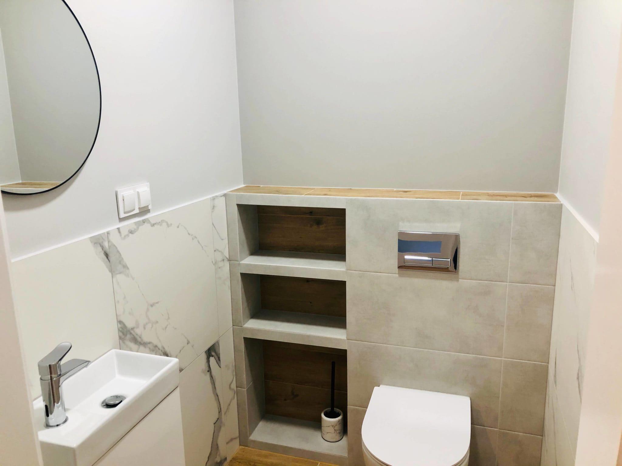 łazienka terakota