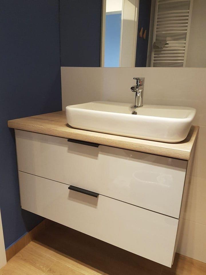 umywalka do łazienki z szafką